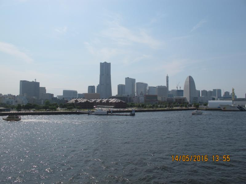 Yokohama from the port